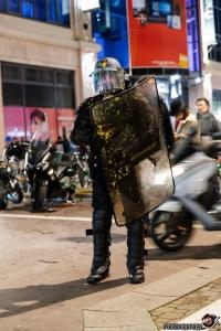 Émeutes Nancy 2018 (Gilets Jaunes)