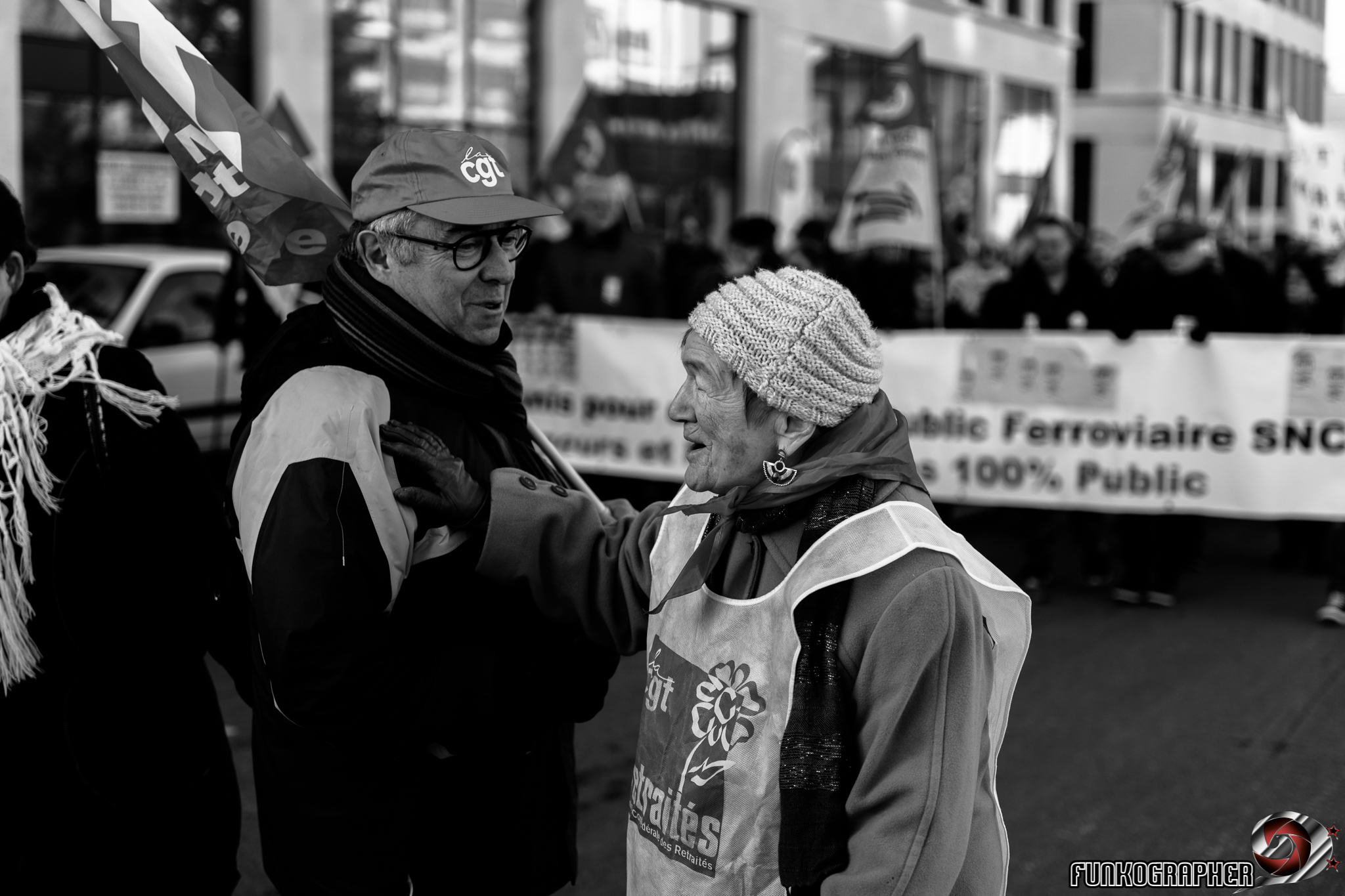 manifestation, grève générale, CGT, FO, gilets jaunes, nancy, 5 fevrier 2019, lorraine, évèenement, manifestation